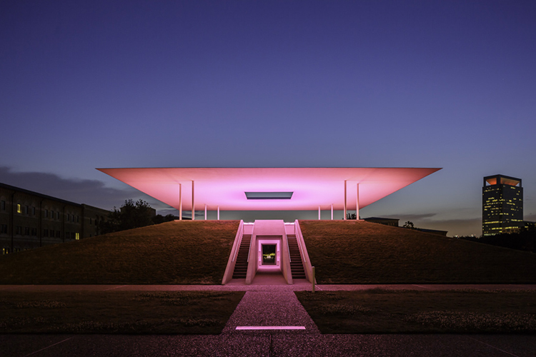 James Turrell Skyspace Twilight Epiphany - Red